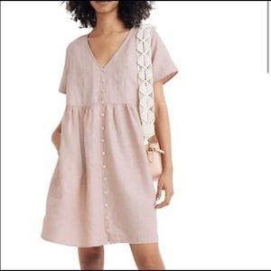 Pink Madewell dress- Linen